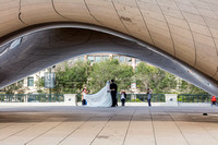 Wedding in Wrigley Square and the Bean